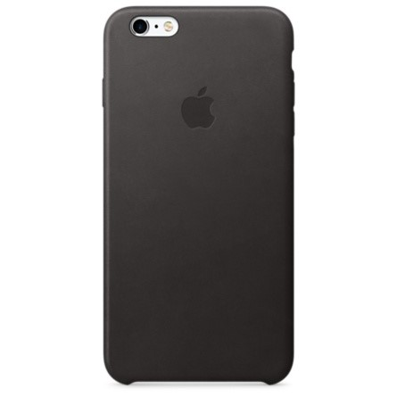 iPhone 6 (s) Leather Case Black