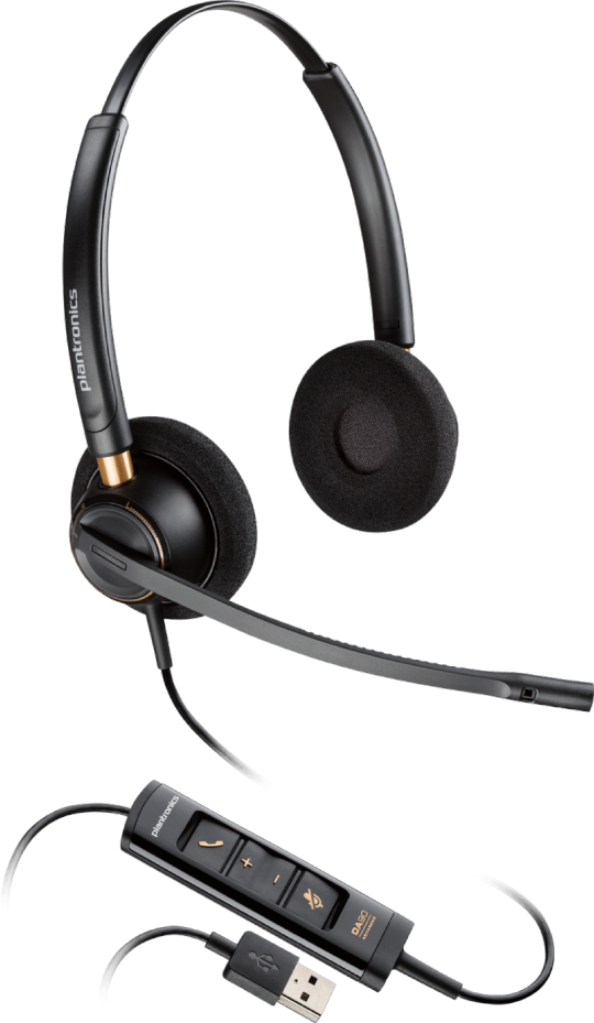 Plantronics headset EncorePro HW525 USB