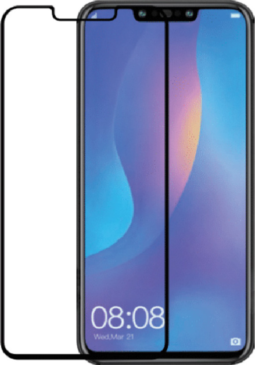 Azuri Curved Tempered Glass RINOX ARMOR black frame Huawei Mate 20 Pro