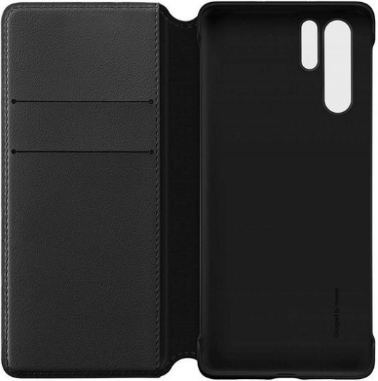 Huawei view flip cover - black - for Huawei P30 Pro