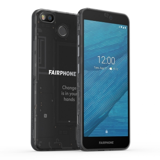 Fairphone 3 Dual-SIM, Dark Translucent