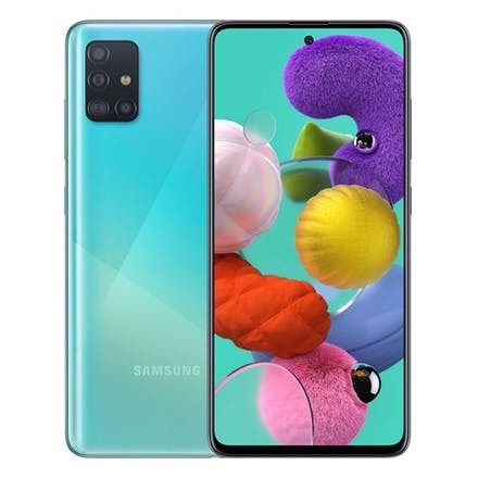 Samsung Galaxy A51 Dual-SIM Prism Crush Blue