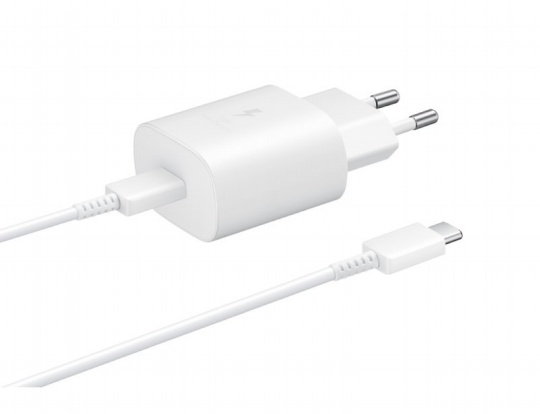 Samsung universal USB-C adapter + cable usb-c (25W), white