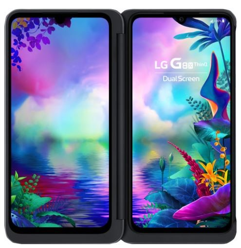 LG G8x ThinQ Dual Screen Dual-SIM, Black-Blac