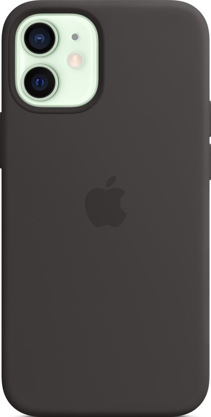 iPhone 12 mini Silicone Case with MagSafe - Black
