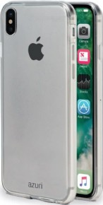 Azuri case - TPU ultra thin - transparent - for Apple iPhone X
