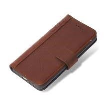 Decoded Leather Wallet Case - brown - for Apple iPhone X