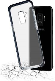 Azuri flexible bumpercover - black - for Samsung Galaxy S9
