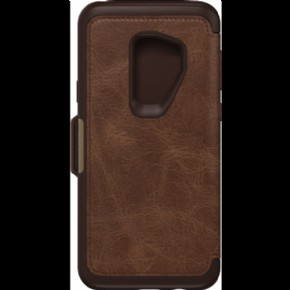 OtterBox Strada - Espresso Brown - for Samsung Galaxy S9 Plus