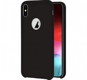 Azuri rubber cover - black - for iPhone Xs Max