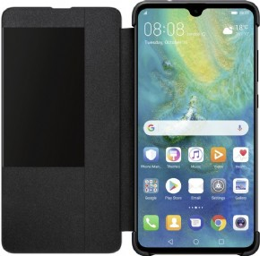 Huawei smart view cover - zwart - voor Mate 20