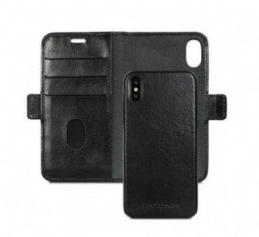 DBramante wallet bookcover Copenhagen - black - for Apple iPhone Xr