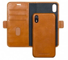 DBramante wallet bookcover Copenhagen - tan - for Apple iPhone Xr
