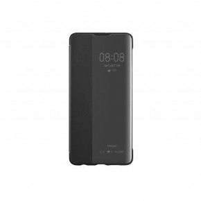 Huawei view flip cover - black - for Huawei P30
