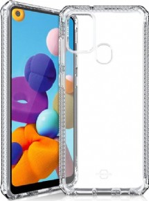 ITSkins Level 2 Spectrum cover - transparant - voor Samsung Galaxy A21s