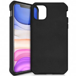 ITSkins Feronia Bio Level 2 cover - zwart - voor Apple iPhone 11