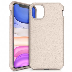 ITSkins Feronia Bio Level 2 cover - naturel - voor Apple iPhone 11