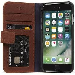 Decoded iPhone iPh SE2020/7/8 Leather Wallet C BRN