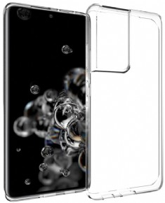 Samsung S21 ultra Clear Standing Cover transparent