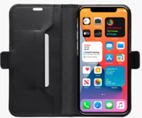 DBramante slim wallet bookcover Copenhagen -Black- voor Apple iPhone 12 Pro Max